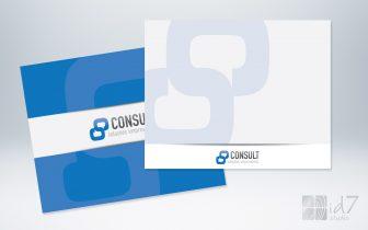 Design Gráfico - apresentacao consult solucoes