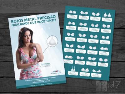 Design Gráfico - Criação de Folhetos
