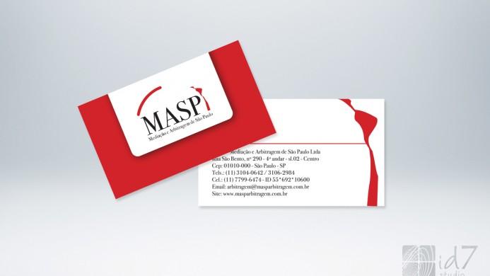 Design Gráfico - Cartão de visita masp