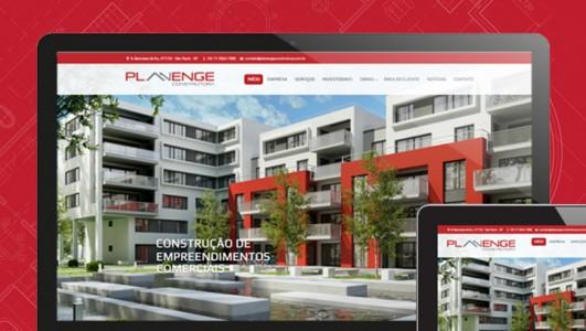 Branding e Site Planenge