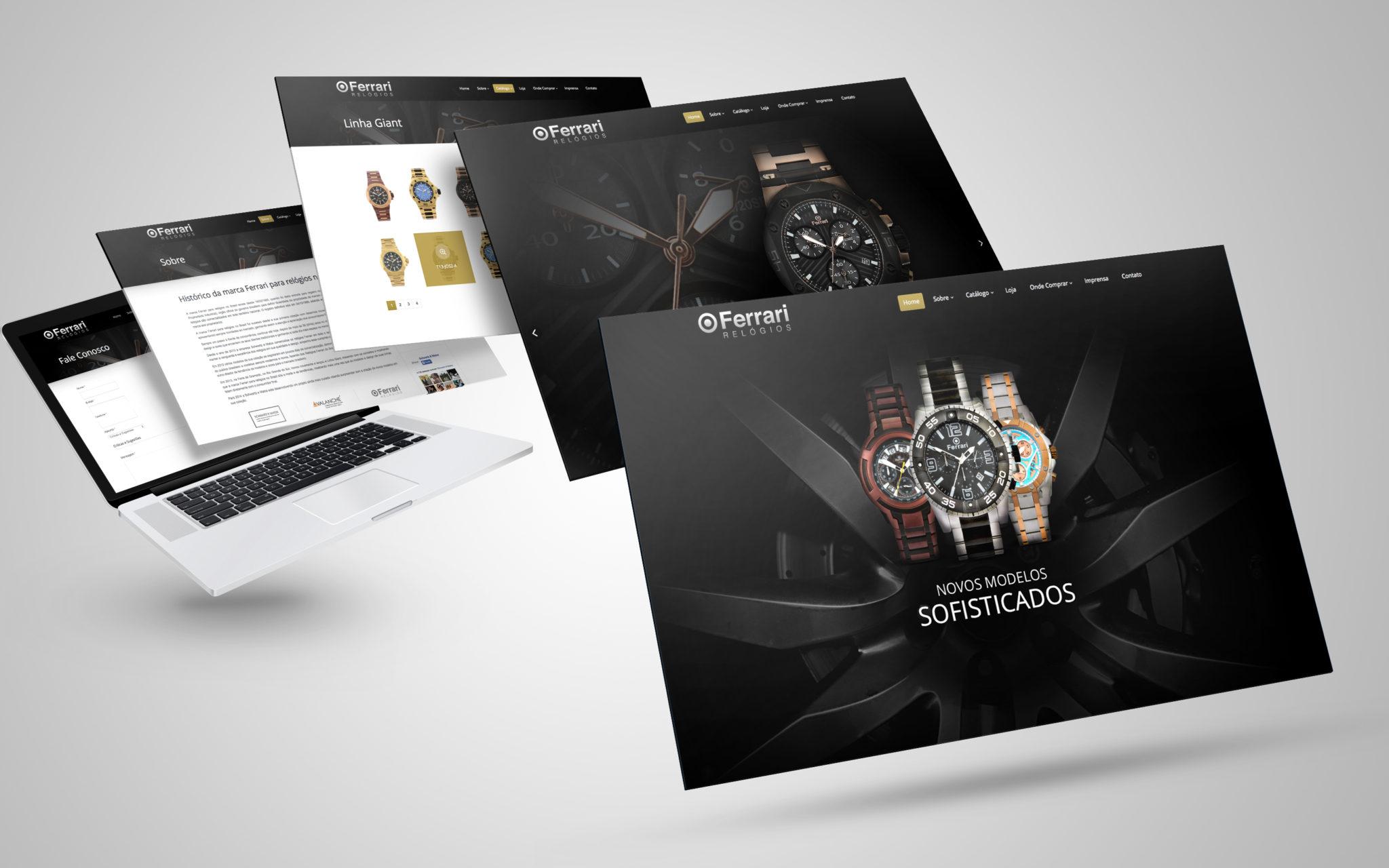 Ferrari Webdesign