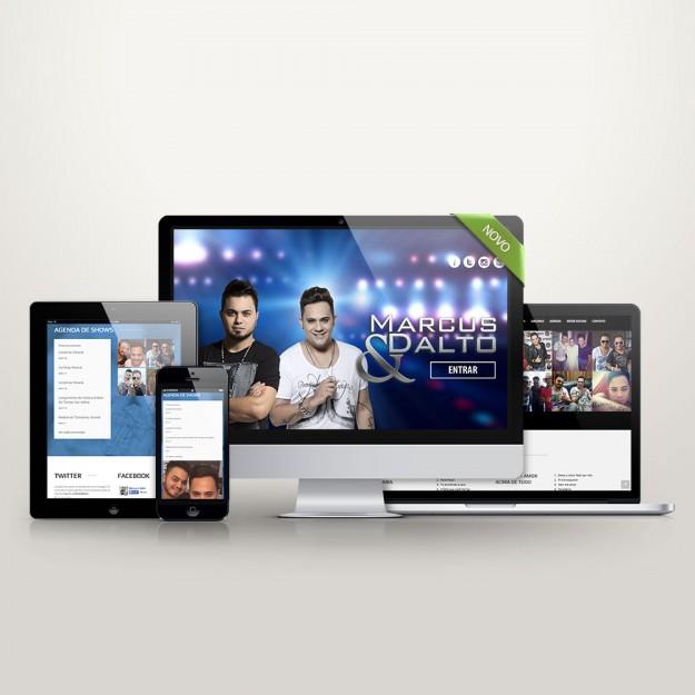 Criação de Website Onepage