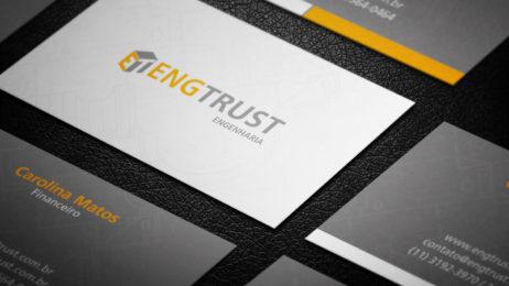 Design de Cartão de Visita - Engtrust