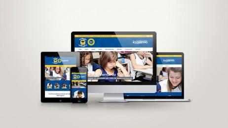 Web Site para Escolas e Colégios