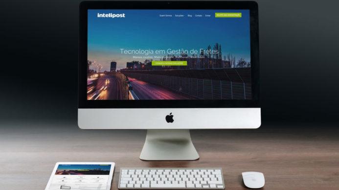 Criação de Site - Logística - Intelipost