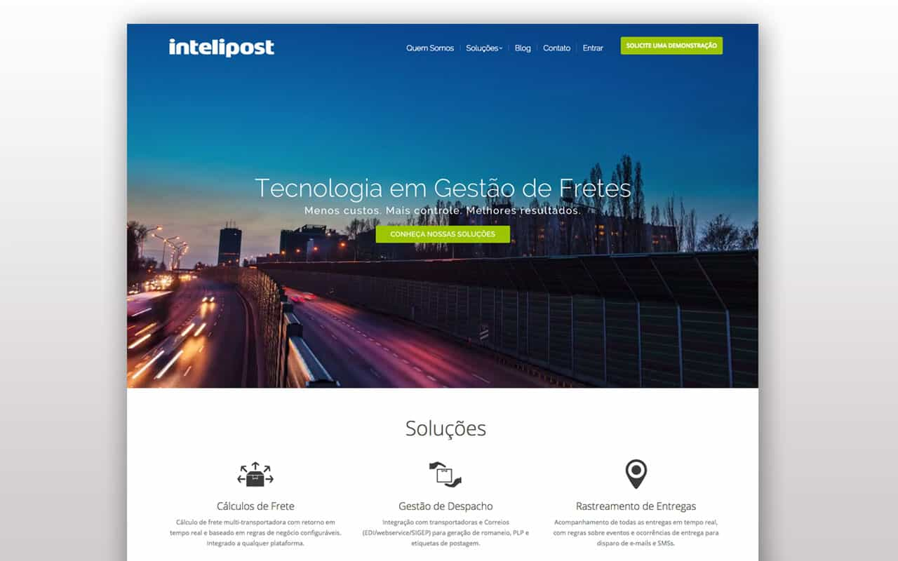 Web Design - Intelipost