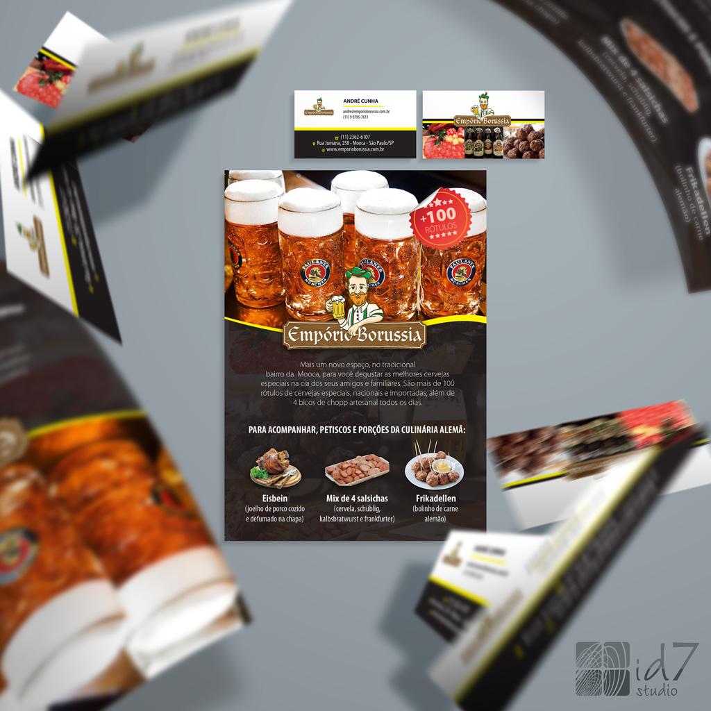 Design de Cartão e Folhetos